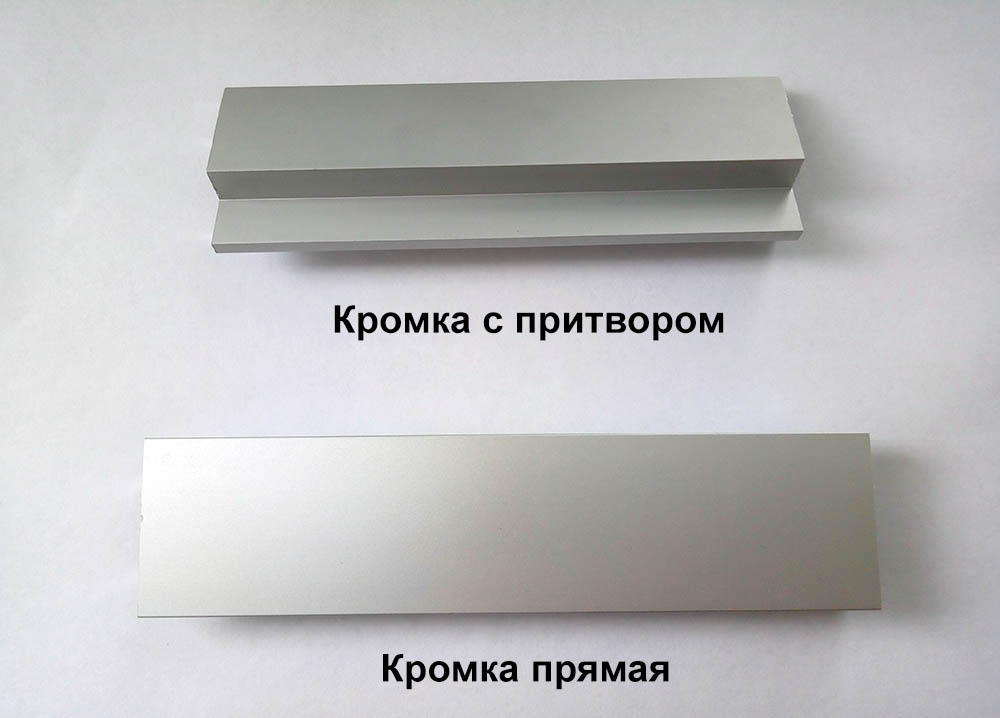 Алюминиевая кромка для дверей купить